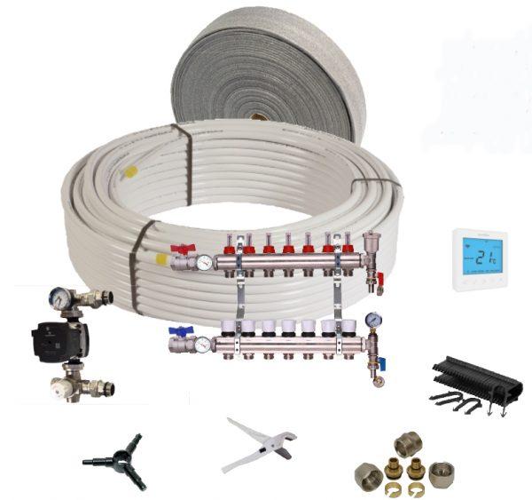 underfloor heating Water kits