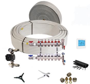 underfloor heating water based kits
